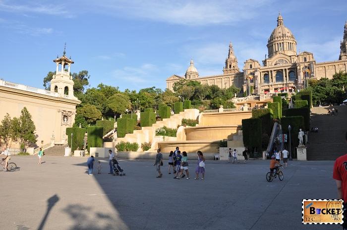 Barcelona Fântânile Magice de la Montjuic