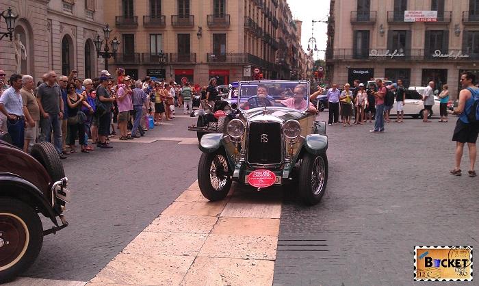 Barcelona Nash Cars - piata Sant Jaume