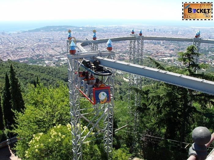Barcelona Parc d'atracciones del Tibidabo