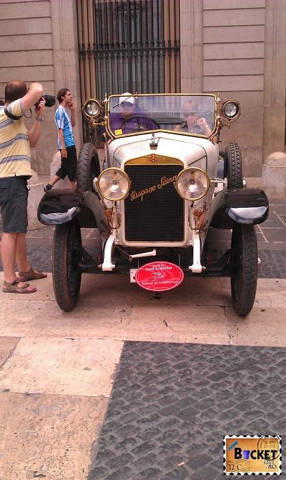 Barcelona Piata Sant Jaume - Hispano Suiza