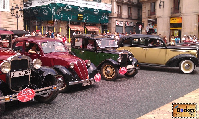 Barcelona Piata Sant Jaume de Sf Cristofor