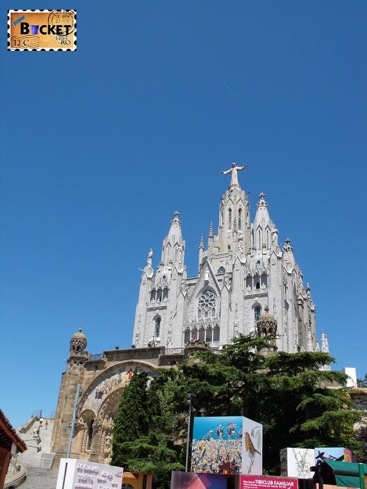 Barcelona -Temple Expiatori del Sagrat Cor