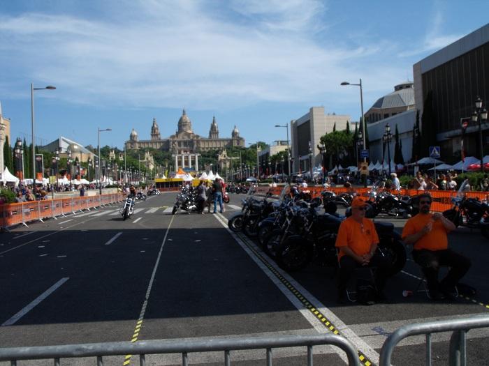 Biker show