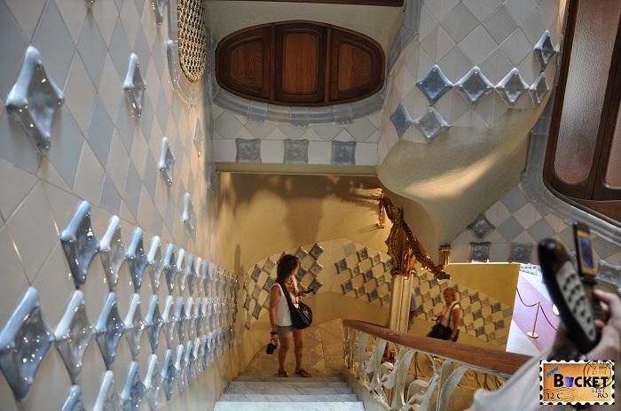 Casa Batlló casa scarilor