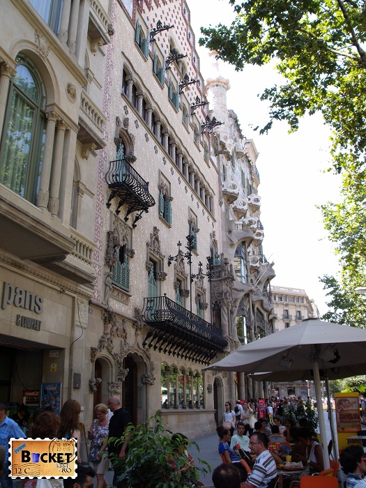 Casa Josefina Bonet - Casa Amatller - Casa Batllo