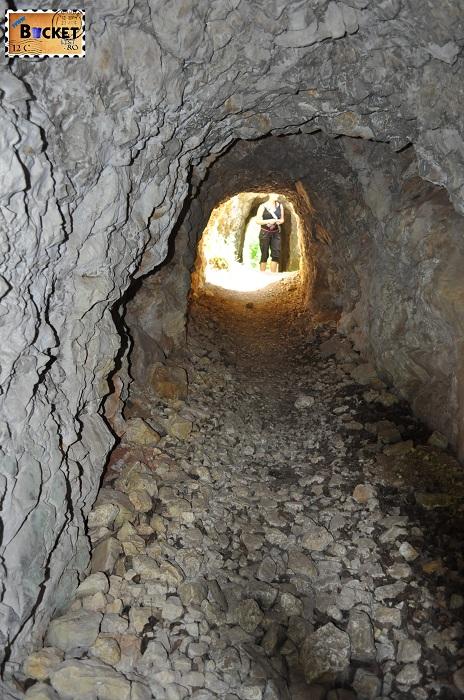 Cheile Nerei tunele romane
