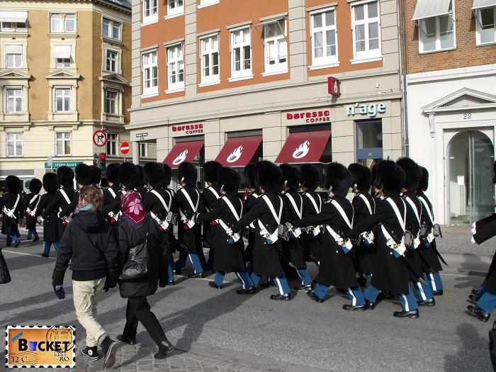Copenhaga garda regala - Top 10 destinaţii