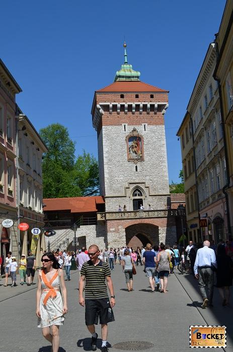 Cracovia poarta St. Florian - Top 10 destinaţii