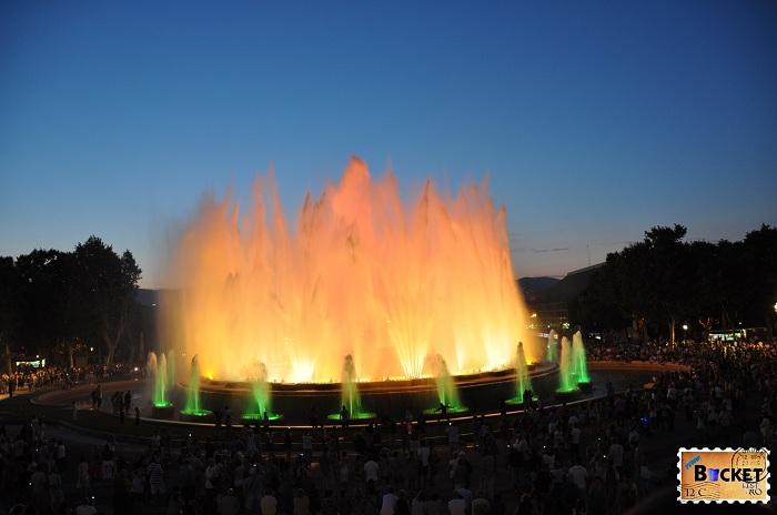 Fântânile Magice de la Montjuic - Barcelona