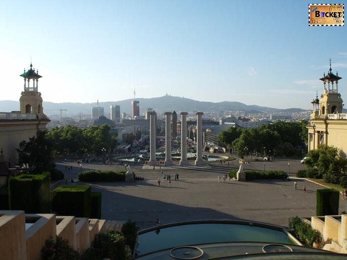 Fântânile Magice de la Montjuic Barcelona