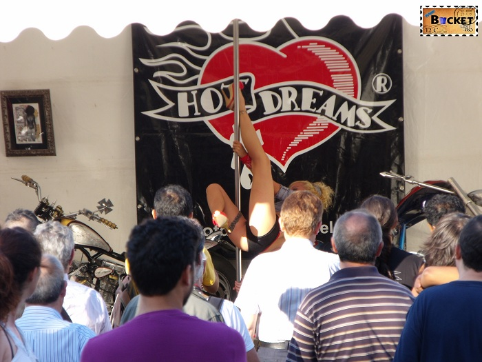 Hot dreams on biker show