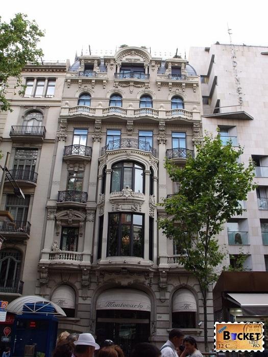 Hotel Montecarlo, Rambla Barcelona
