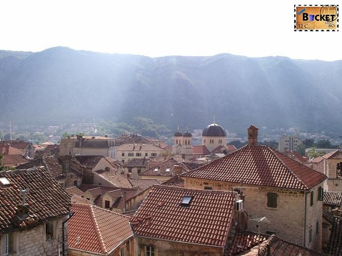 Kotor vedere de pe bastion - Top 10 destinaţii