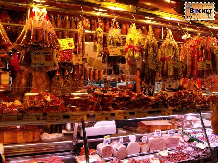 Barcelona Chorizo si Jamon