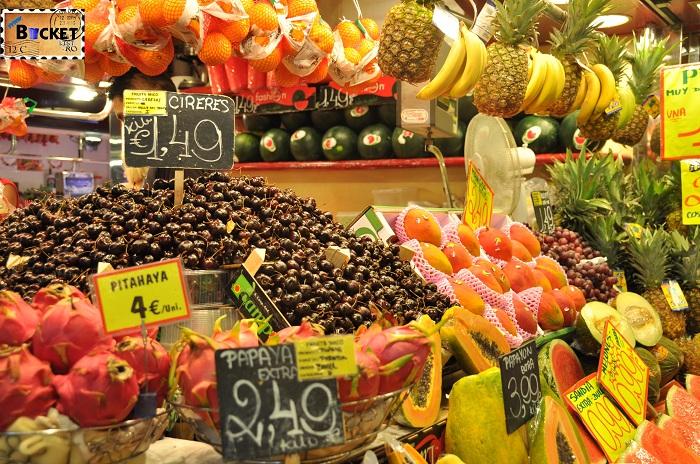 Barcelona Fructe