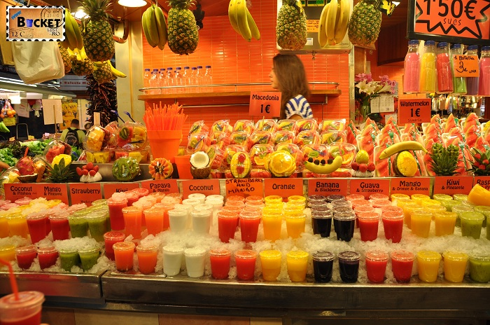 Barcelona Fructe si sucuri
