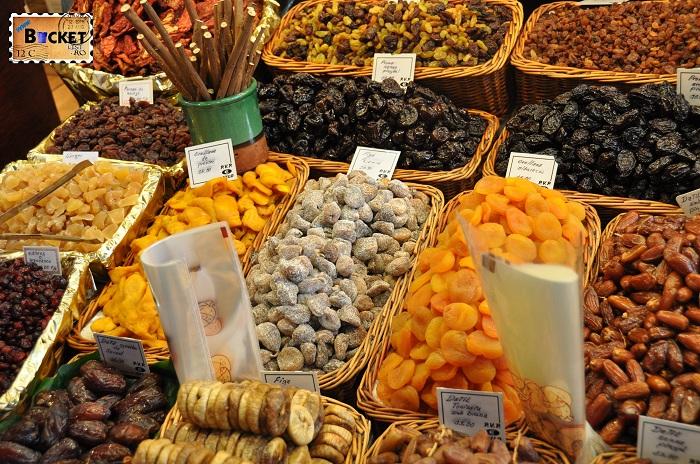 Barcelona Fructe uscate