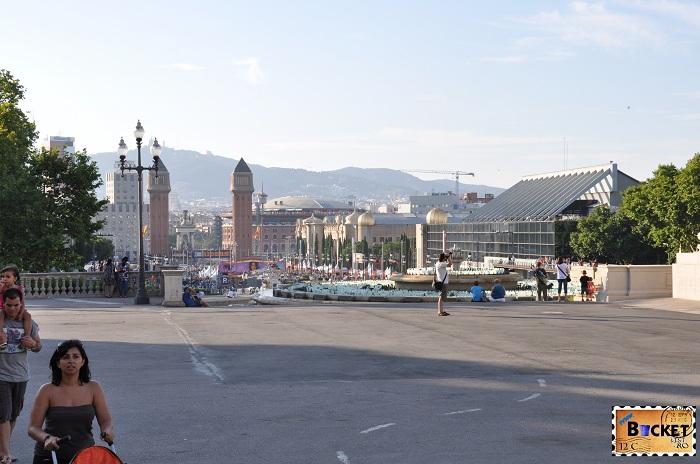 Montjuic magic fountain Barcelona - Fântânile Magice de la Montjuic