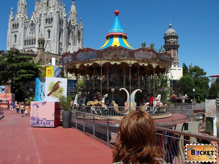 Parc d'atracciones del Tibidabo - Barcelona