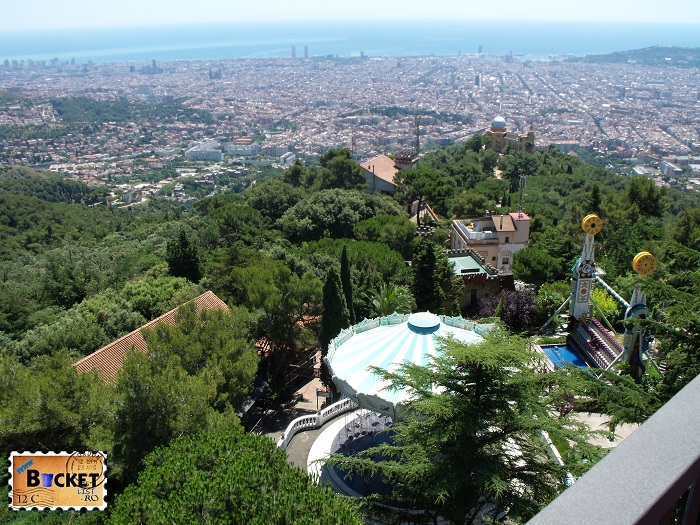 Parc d'atracciones del Tibidabo Barcelona