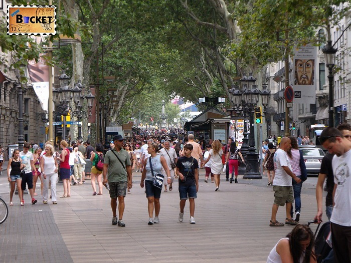 Rambla Barcelona Spania