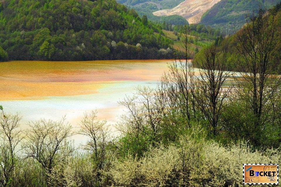 Rosia Poieni Lacul si barajul Geamana