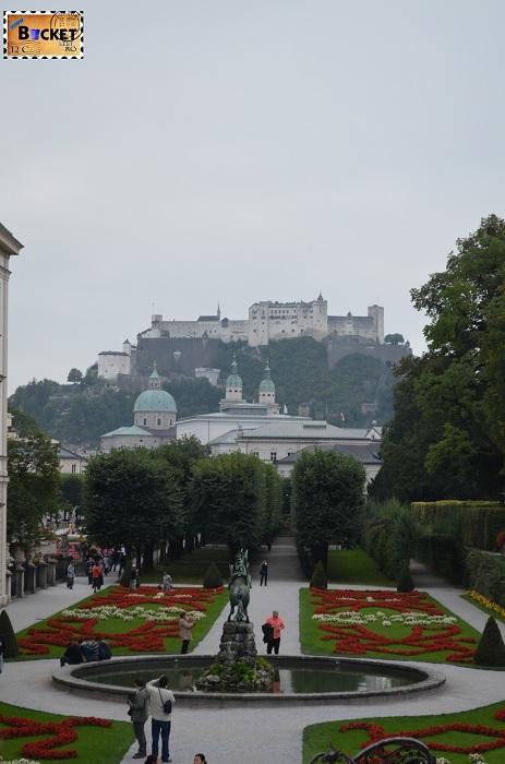 Salzburg -Mirabellgarten si Festung Hohensalzburg - Top 10 destinaţii