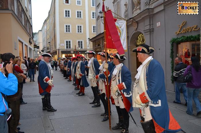 Salzburg Rathaus parade - Top 10 destinaţii