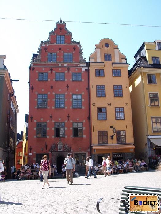 Stockholm  Gamla Stan casa Schantz - Top 10 destinaţii