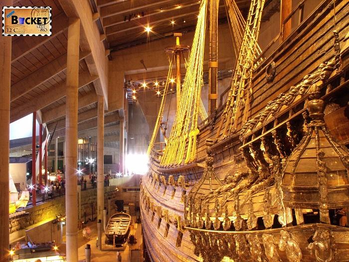 Stockholm  Vasa museum - Top 10 destinaţii