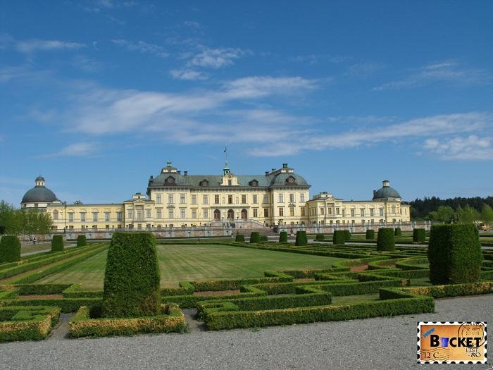 Stockholm  palatul Drottningholm - Top 10 destinaţii