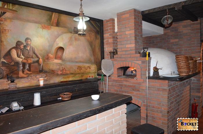 Taverna Pecicană - cuptor pizza
