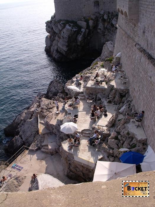 Terasa Dubrovnik cu vedere spre Lokrum - Top 10 destinaţii