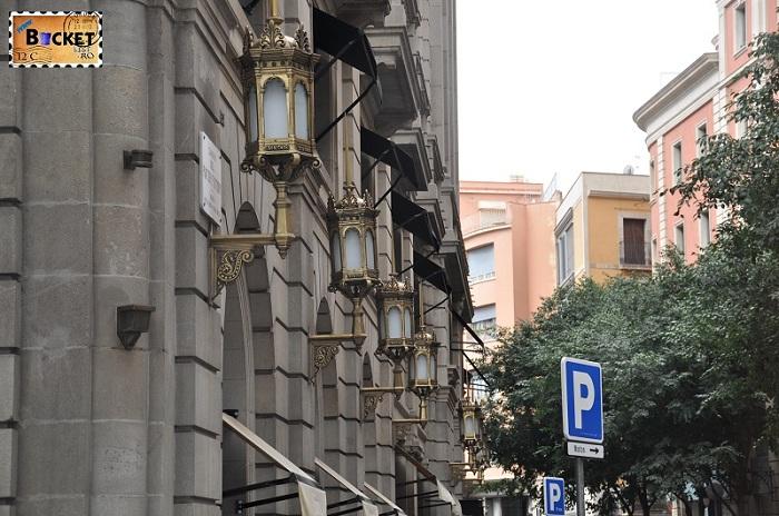 Carrer del pintor fortuny, Barcelona Spania