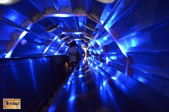 Atomium Bruxelles - Efect luminos