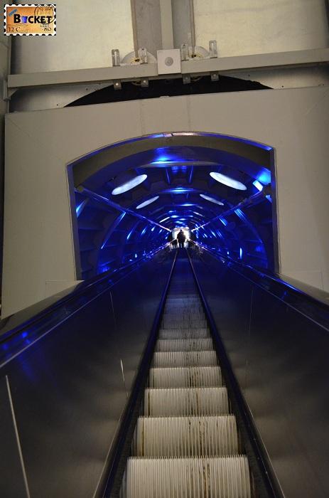 Atomium Bruxelles - Tuburi