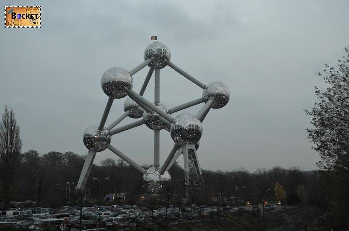 Atomium Bruxelles night