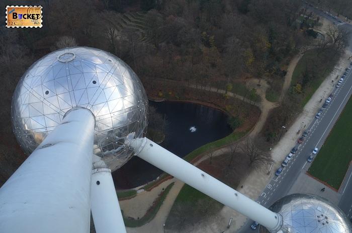 Atomium Bruxelles - vedere