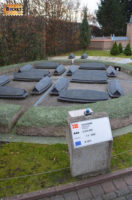 Mini Europe - Viking ring fort