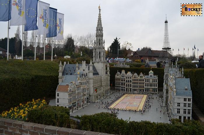 Mini Europe - Bruxelles Grand Place si City Hall