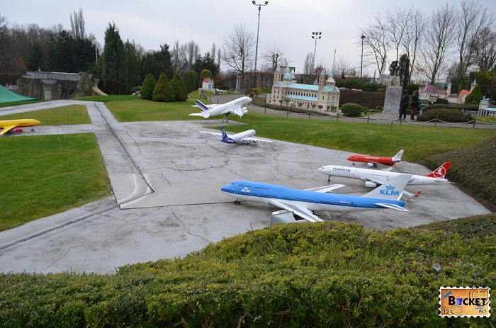 Mini Europe- avioane