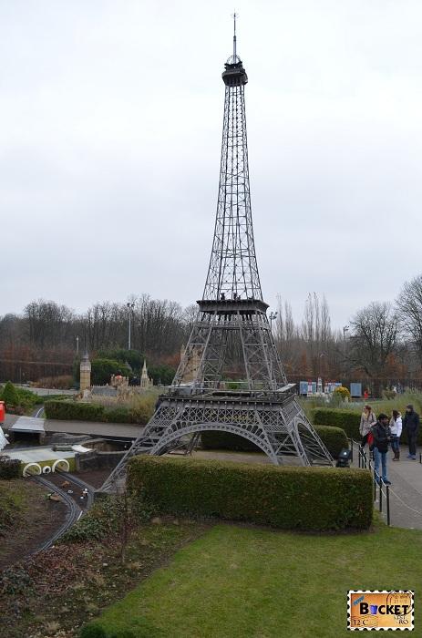 Mini Europe Paris Turnul Eifel