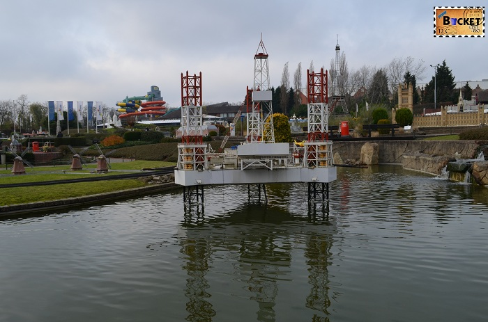 Mini Europe platforma maritima
