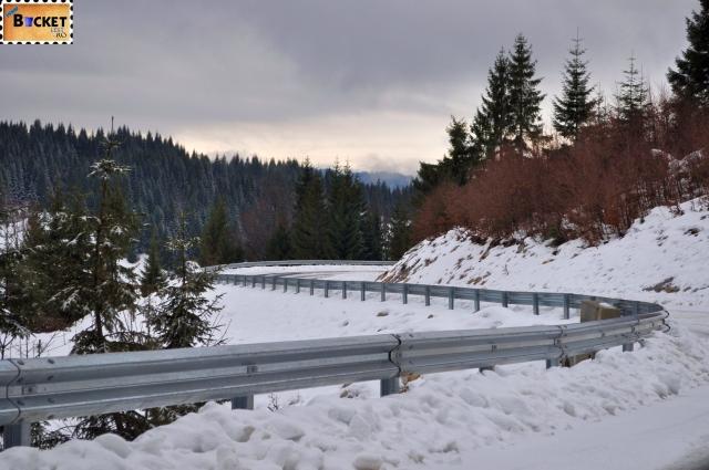 Drum de iarnă in munţii Apuseni