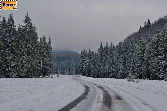 peisaj de iarna - Padiş