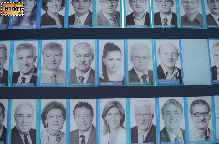 cine sunt aleşii noştri @ Parlamentarium - Bruxelles