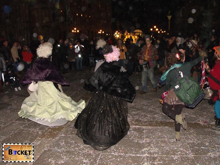 Carnavalul de la Veneția Piata San Marco