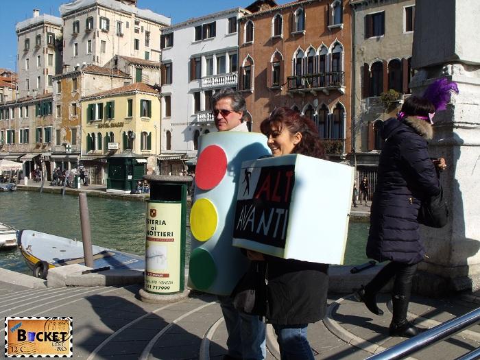 Carnavalul de la Veneţia  - Semafoare