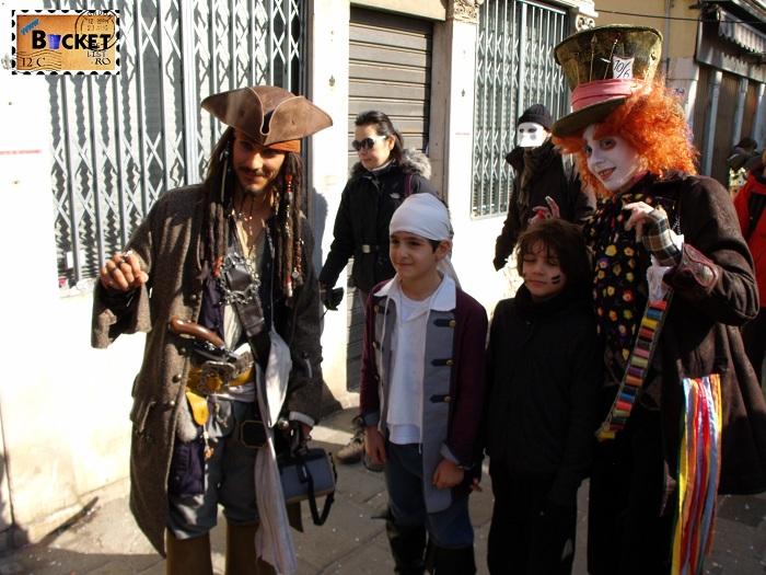 Carnavalul de la Veneţia  Jonny Deep