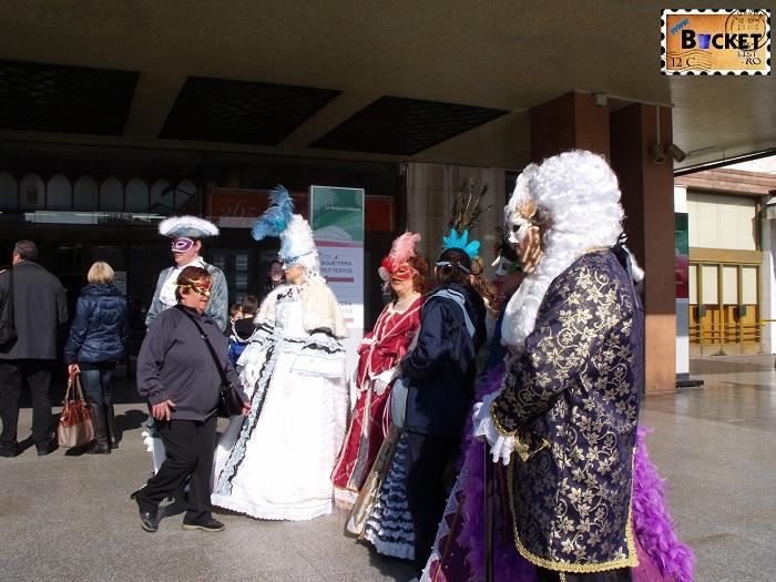 Carnavalul de la Veneţia - gara centrala